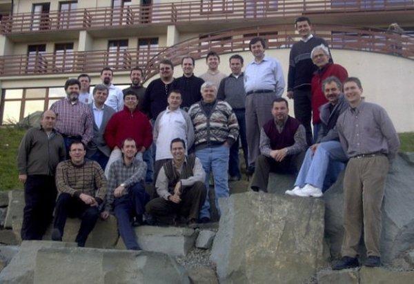 Fondatorii BIG la Malenovice, în Slovacia